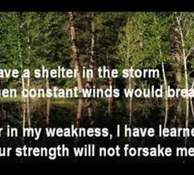 I Have a Shelter