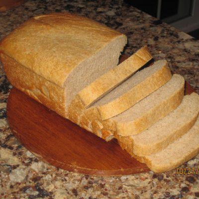 Homemade Wheat Bread…