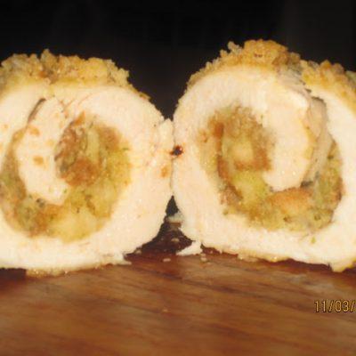 Stuffed Chicken Roll Ups