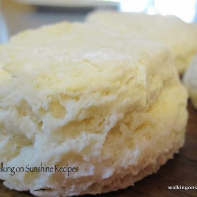 EASY Homemade Biscuits…