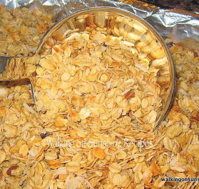 Homemade Granola…