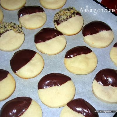 Shortbread with Chocolate…