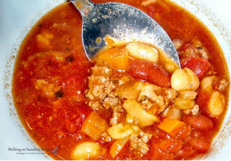 Pasta Fagioli Soup 2011