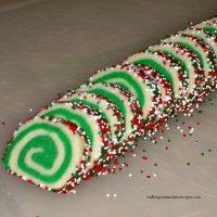 Easy Slice and Bake Christmas Cookies