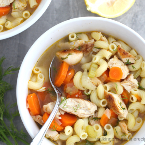 Easy and Delicious Comforting Chicken Soup