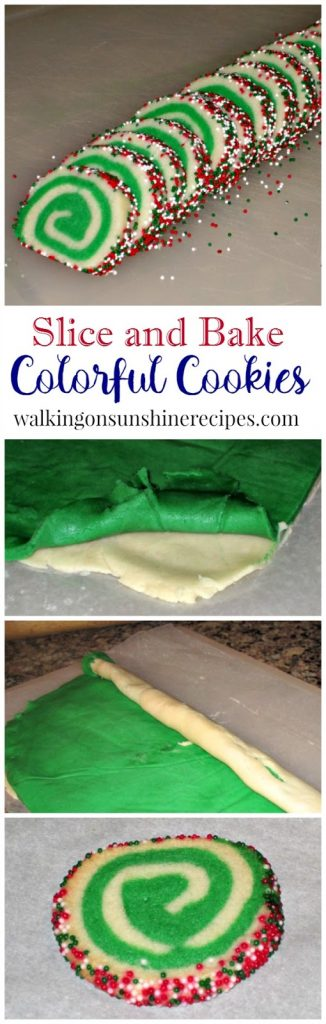 Easy Slice and Bake Cookies from Walking on Sunshine Recipes