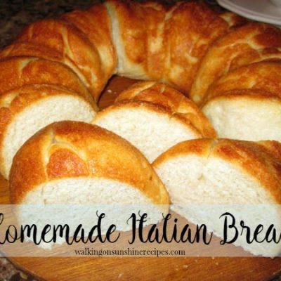 Homemade Italian Bread