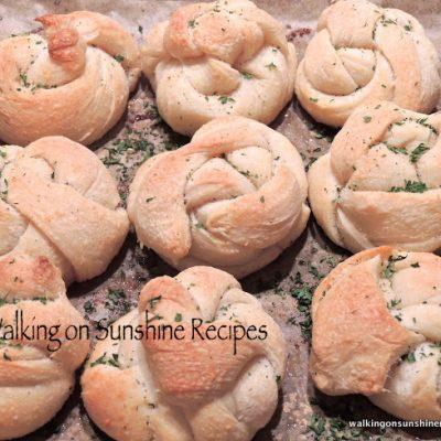 Garlic Knots…