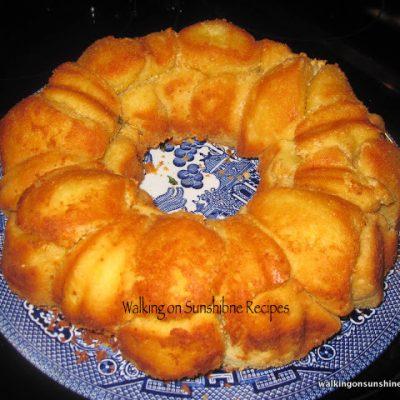 Garlic Parmesan Pull Apart Bread…