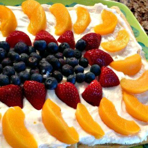 Crescent Rolls Fruit Tart