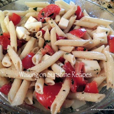Fresh Tomatoes and Pasta