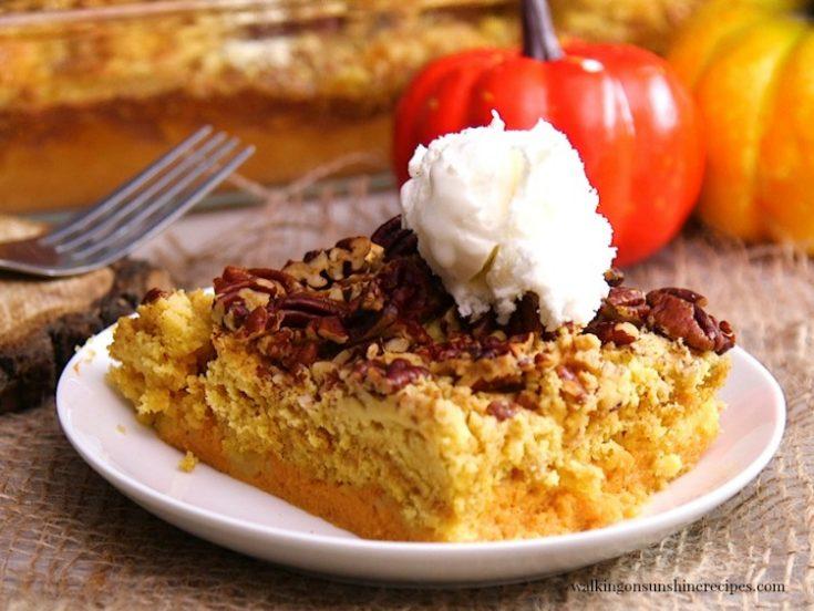Pumpkin Crunch Cake with VIDEO