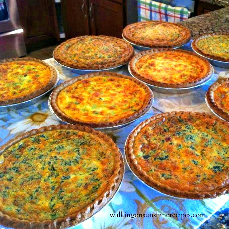 Quiche from Olivia's Bridal Shower