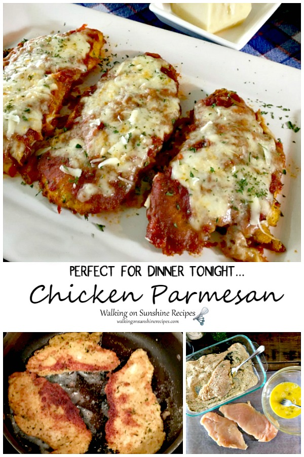 Chicken Parmesan perfect for Dinner Tonight from WOS