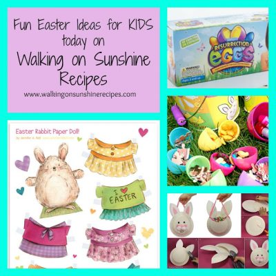 Easter Ideas and Activities for the Kids