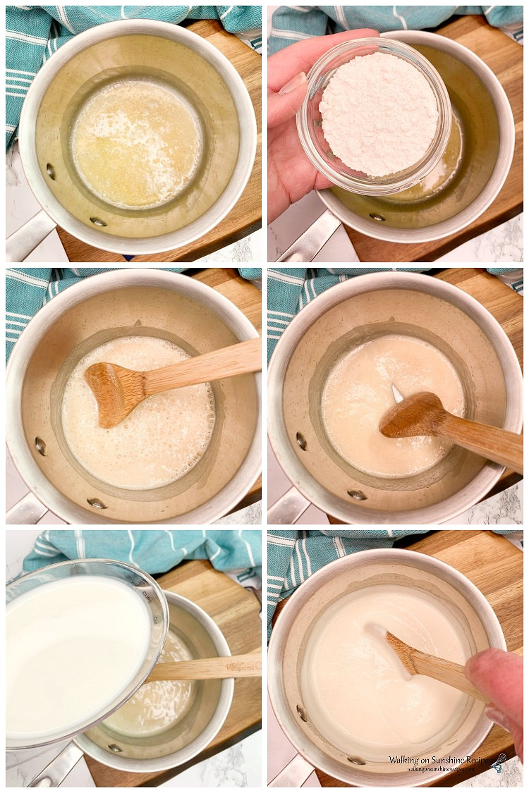 How to make cream sauce for Homemade Mac and Cheese