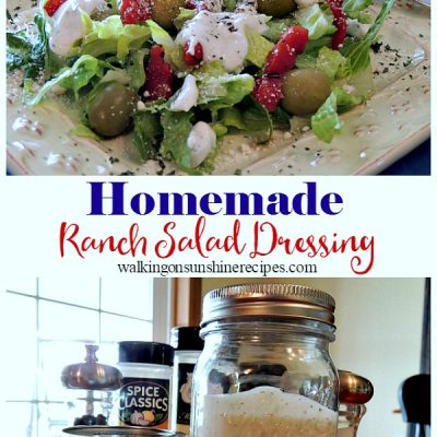 Recipe: Easy Homemade Ranch Salad Dressing