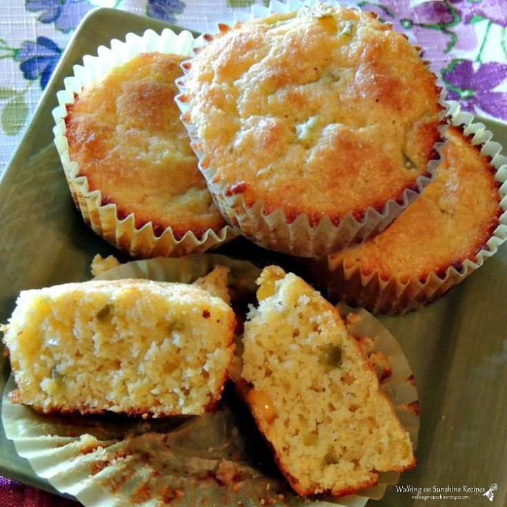 Corn Muffins with Jalapeno