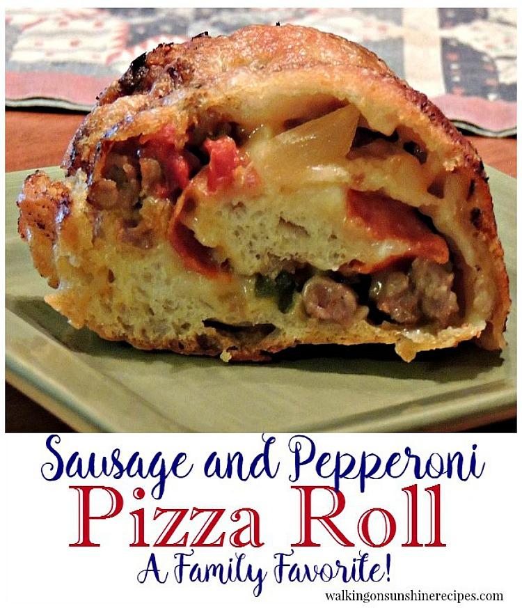 Italian sausage roll recipe.