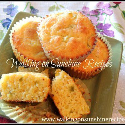 Jiffy Box Corn Muffins with Jalapeno