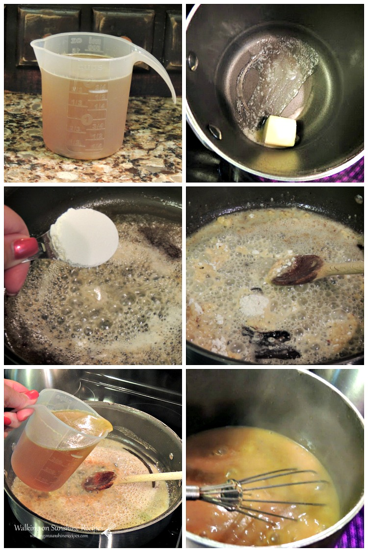 How to make homemade gravy from WOS