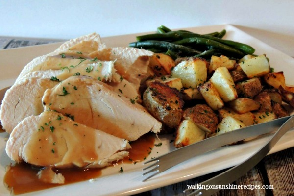 Roast Turkey in the Crock Pot from Walking on Sunshine Recipes