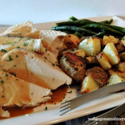 Roast Turkey Made in the Crock Pot