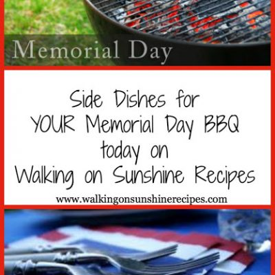 Side Dishes for a Memorial Day BBQ…