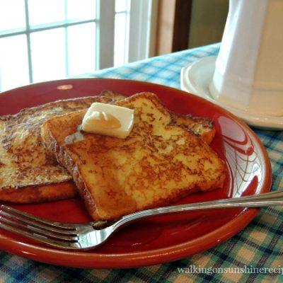 Freezer French Toast