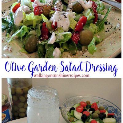Copycat Olive Garden Salad Dressing…