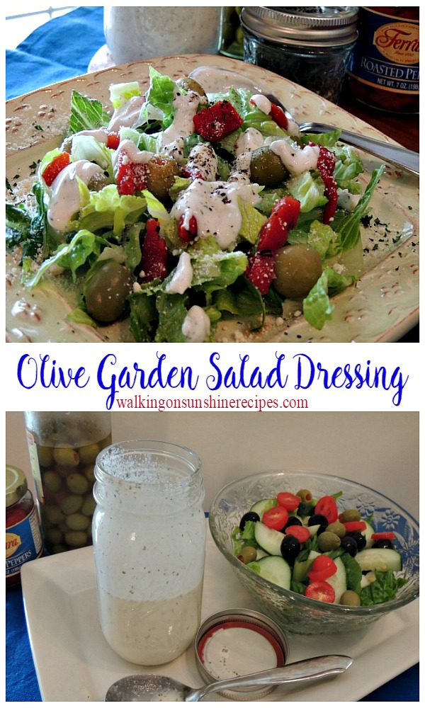 a delicious copycat homemade salad dressing that really does taste like olive garden from walking on - Olive Garden Salad Dressing