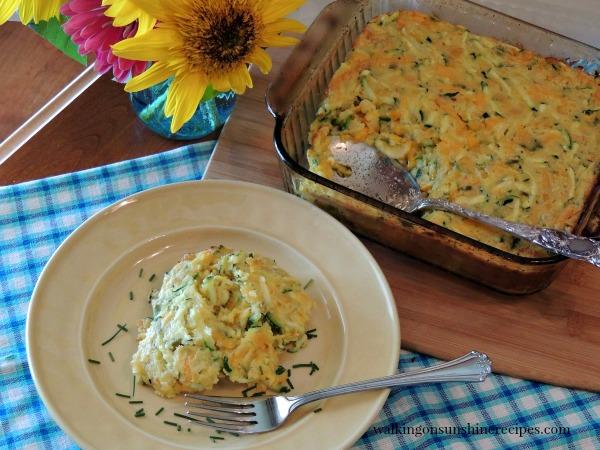 Zucchini Corn Casserole