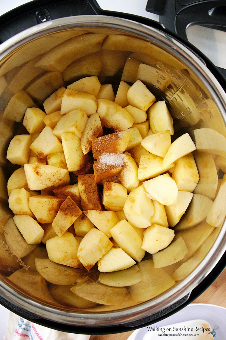 Apples in Instant Pot