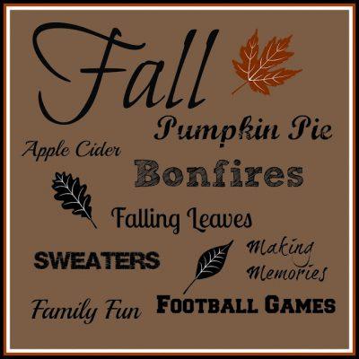 Fall Printable…