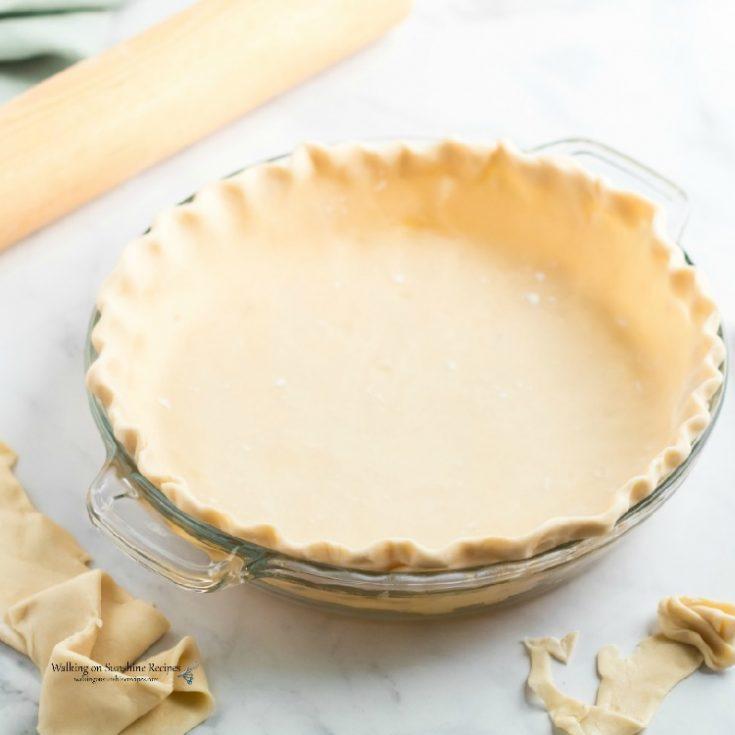 How to Make Homemade Pie Crust Recipe - Pie Crust Basics Part One