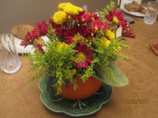 Thanksgiving Centerpiece by walking on sunshine