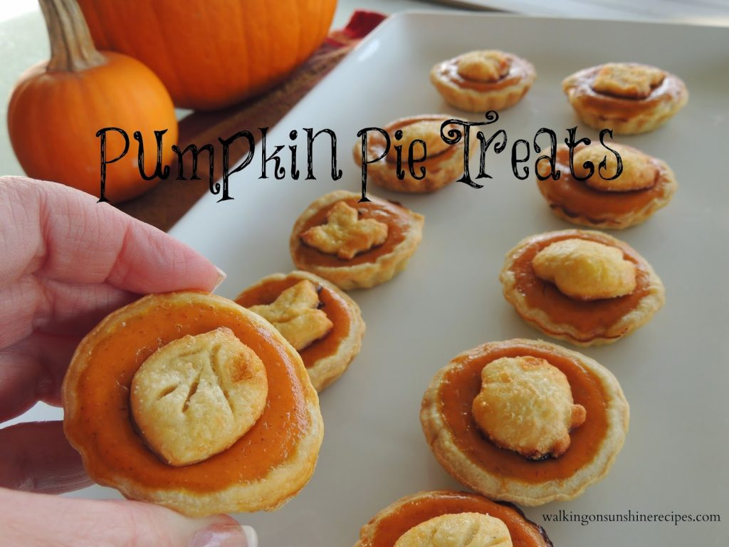 Make these delicious treats for your family this Thanksgiving.