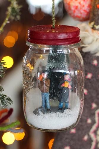 Miniature Couple in a Jar