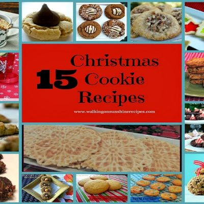 15 Delicious Christmas Cookie Recipes