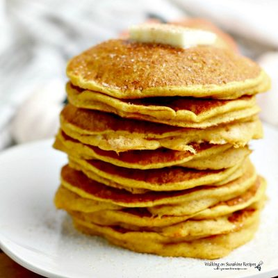 Pumpkin Pancakes with Pancake Mix