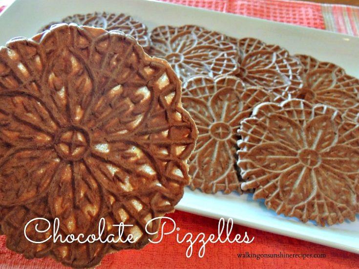 Italian Chocolate Pizzelles
