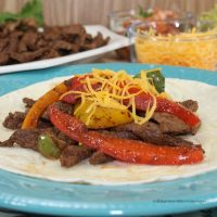 Easy Steak Fajitas