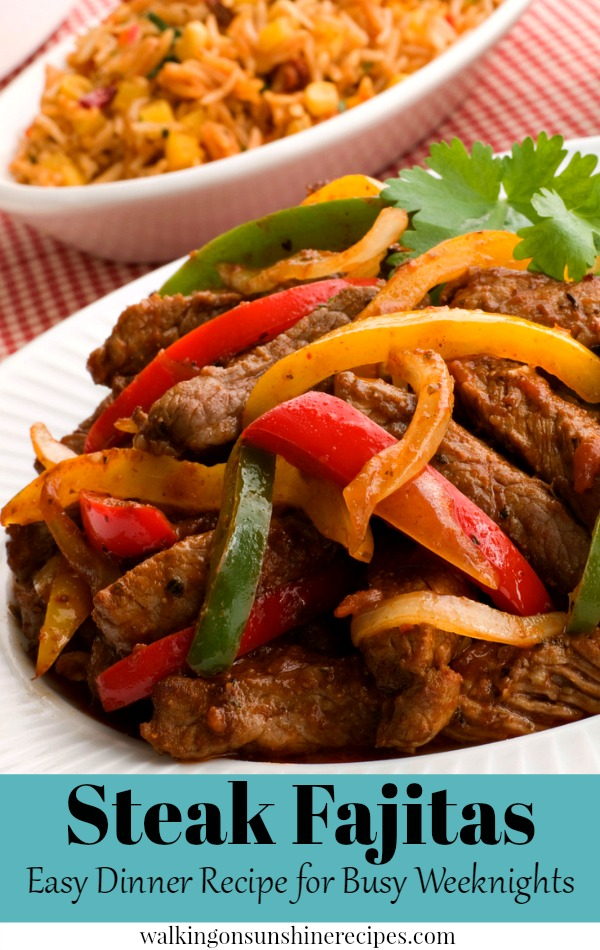 Steak Fajitas Easy Dinner Recipe for Busy Weeknights