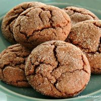 Chocolate Sugar Crinkle Cookies from a Cake Mix
