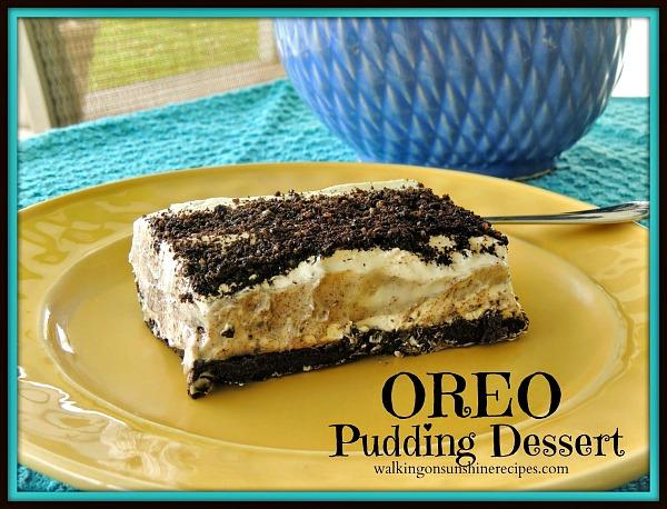 Oreo Pudding Dessert