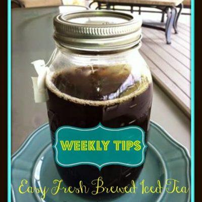 Easy Fresh Brewed Iced Tea