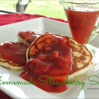 Homemade Strawberry Sauce