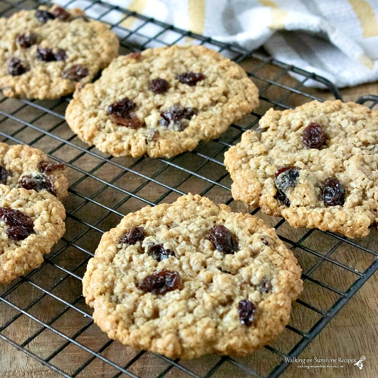 Classic Oatmeal Cookies from WOS Featured photo