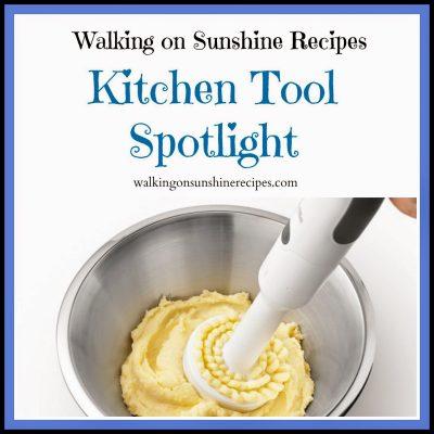 Kitchen Tool Spotlight…Breville Multi Mash Potato Masher