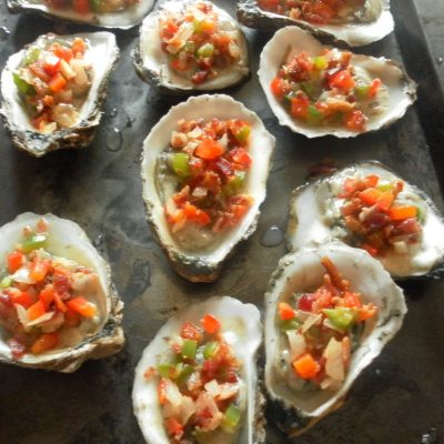 Long Island Broiled Oysters